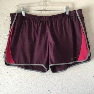Patagonia Maroon Pink Running Shorts
